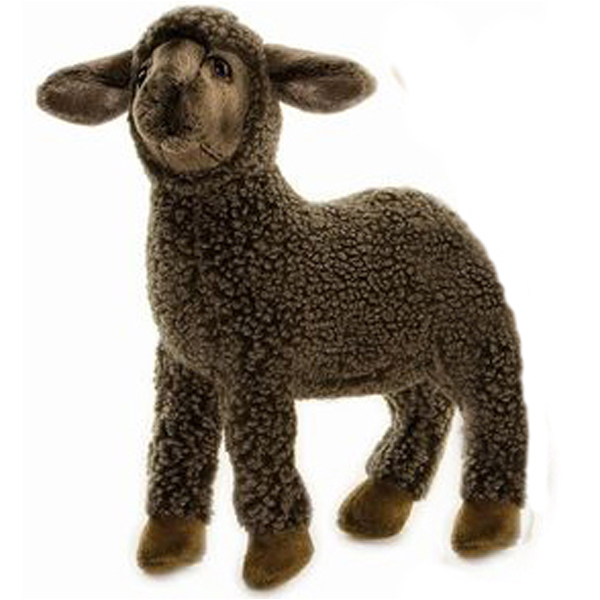 Black Sheep Kid Toy Reproduction By Hansa 4 Long Affordable Gift