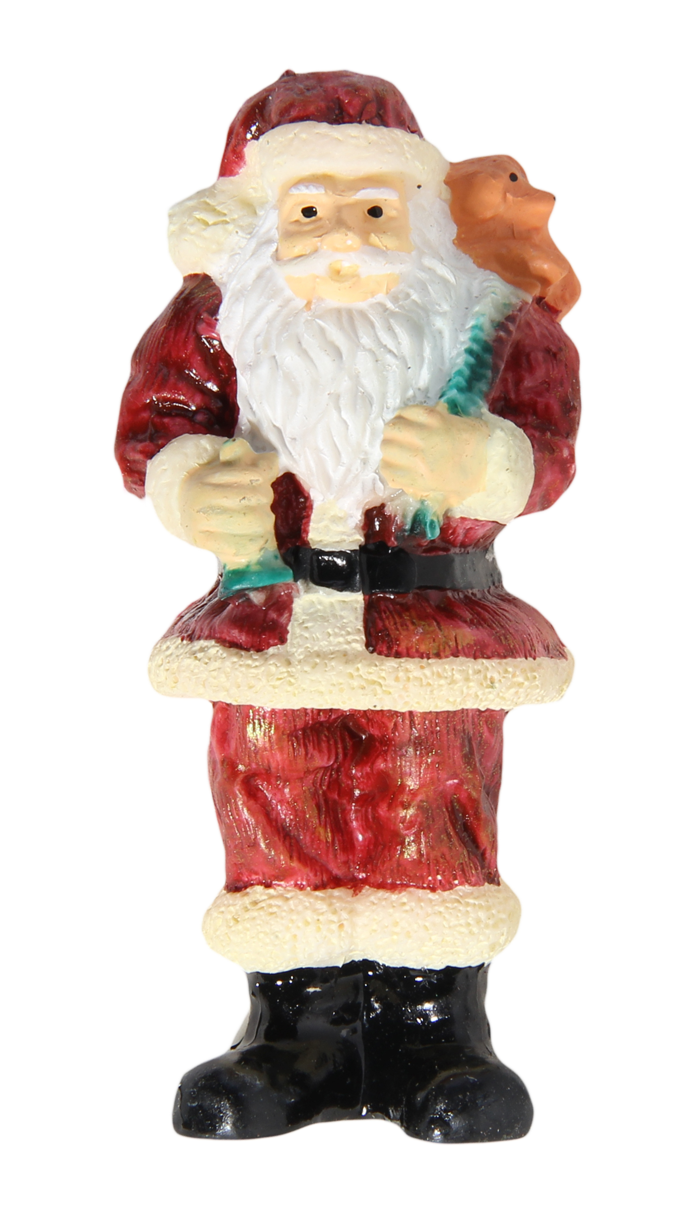 Acme mini santa claus with puppy refrigerator magnet