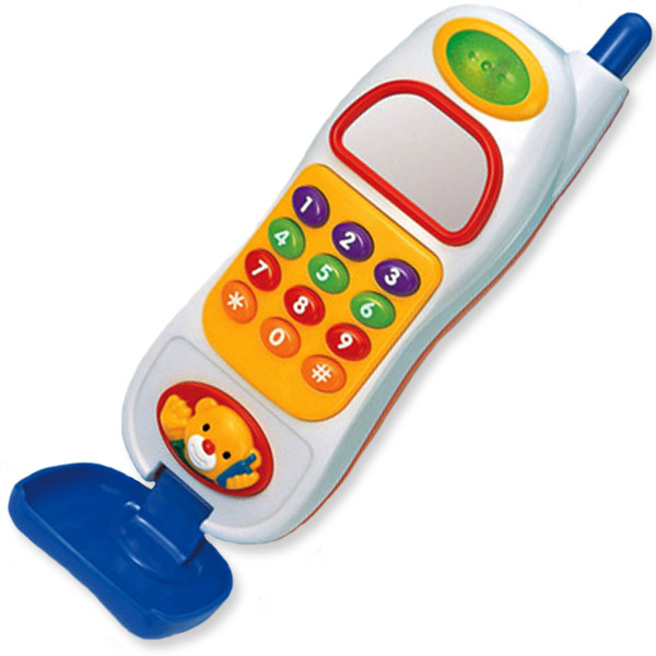 Megcos Musical Toy Cell Phone