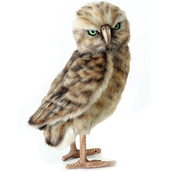 Burrowing Owl Toy Reproduction By Hansa 11 Tall Affordable Gift For Your Little One Item Dhan 5203